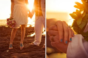 Erin + Anthony's Warm Hawaiian Wedding