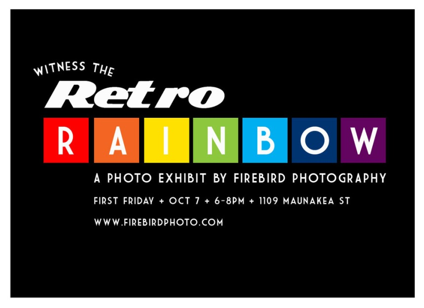 Flyer-retrorainbow