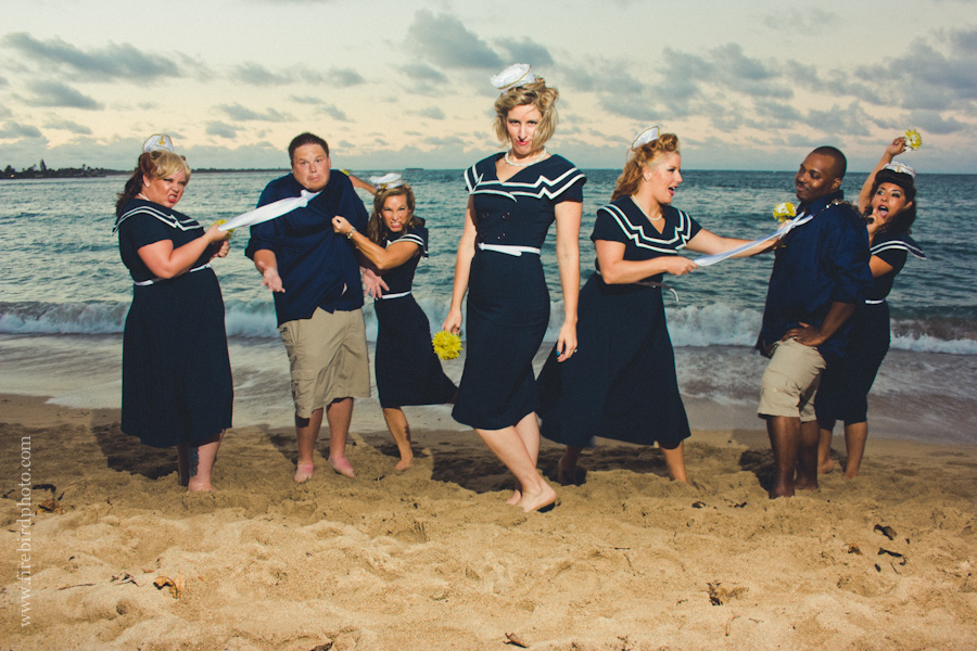 August 2012 - epic and adorable sailor retro chic wedding