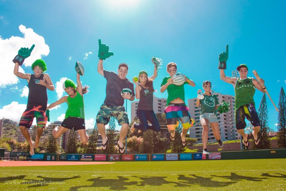 August 2012 - Shot promotional commercial images for UH Manoa's Rainbowtique Store